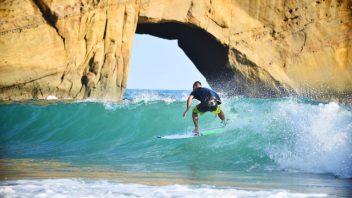 サーフィンスクール参加プラン