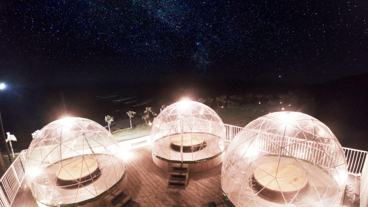 星空ドームで星空鍋プラン✨