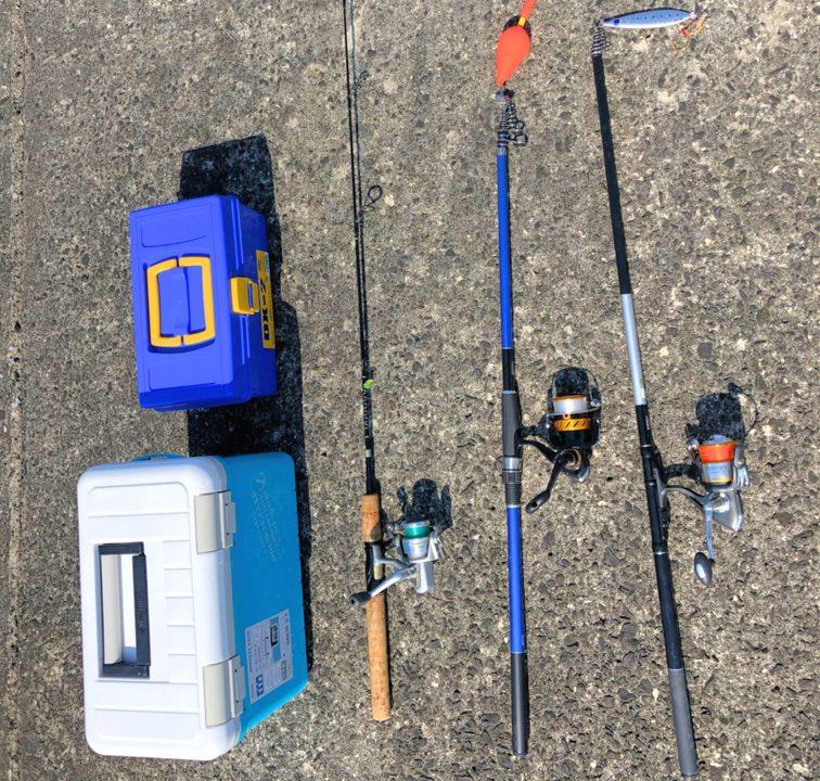 レンタル釣り竿
